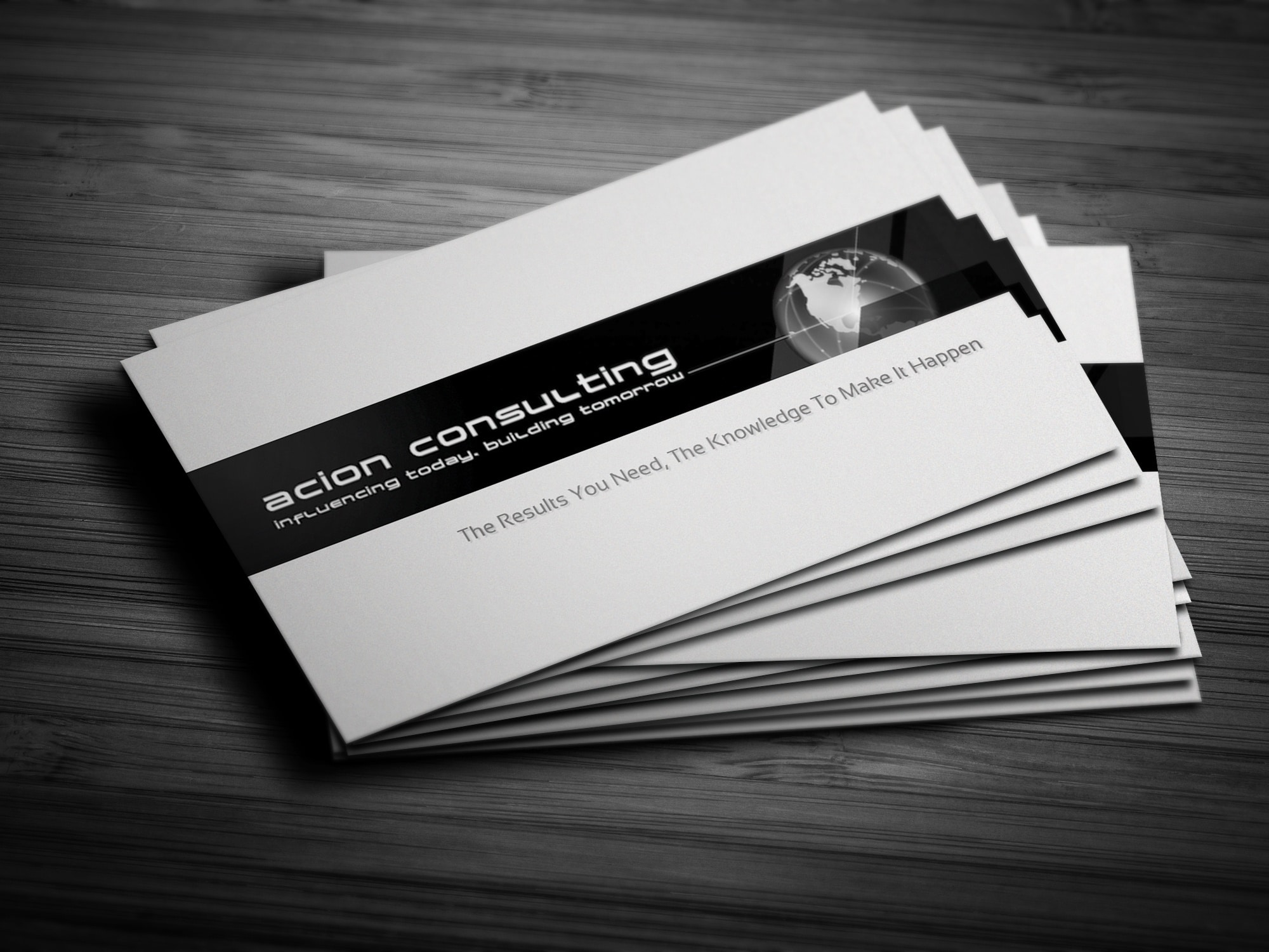 Maple Ridge Business Card Design